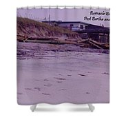 Barnacle Bill's Post Bertha And Fran Shower Curtain