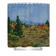Barnardsville Branch Shower Curtain