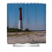 Barnegat Lighthouse Nj Shower Curtain