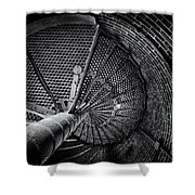Barnegat Stairs Shower Curtain