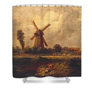 Barnes Common Shower Curtain