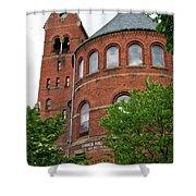 Barnes Hall Cornell University Ithaca New York 02 Shower Curtain