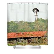 Barns 005 Shower Curtain