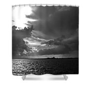 Barnstable Harbor Sky Shower Curtain