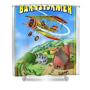 Barnstormer Shower Curtain