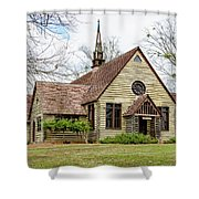Barnwell Chapel Shower Curtain