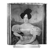 Baroness De Pontalba Shower Curtain