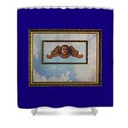 Baroque Angel Shower Curtain