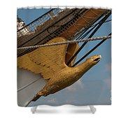 Barque Eagle Masthead Shower Curtain