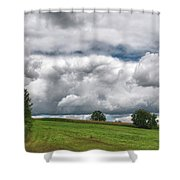 Barre Clouds 2181 Shower Curtain