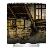 Barrel Casks Shower Curtain