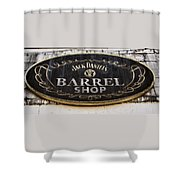 Barrel Shop Shower Curtain