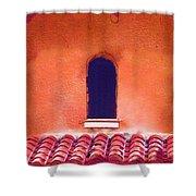 Barrel Tile Shower Curtain