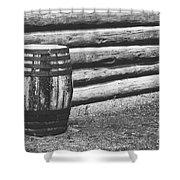 Barrel Shower Curtain