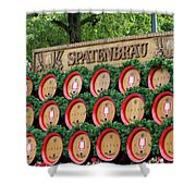 Barrels Shower Curtain