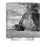 Barren Coast Shower Curtain