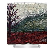 Barren Landscapes Shower Curtain