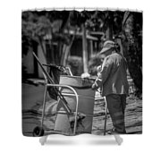 Barrendera Antiguo Cuscatlan Shower Curtain