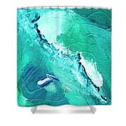 Barrier Reef Shower Curtain