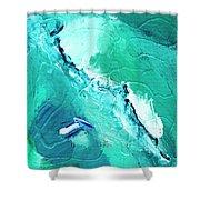 Barrier Reef Shower Curtain