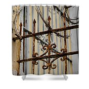 Barriers Shower Curtain