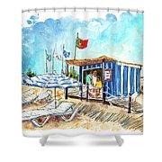 Barril Beach 05 Shower Curtain