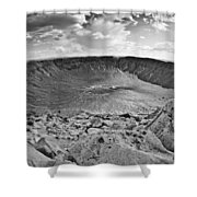 Barringer Meteor Crater #2 Shower Curtain
