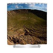 Barringer Meteor Crater #3 Shower Curtain