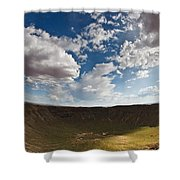 Barringer Meteor Crater #4 Shower Curtain