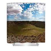 Barringer Meteor Crater #5 Shower Curtain