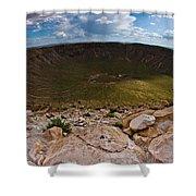 Barringer Meteor Crater #6 Shower Curtain