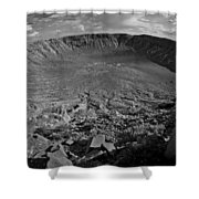 Barringer Meteor Crater #7 Shower Curtain