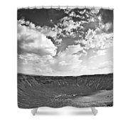 Barringer Meteor Crater Shower Curtain
