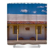 Barrio Viejo Symmetry Shower Curtain