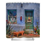 Barrio Viejo With Character Shower Curtain