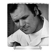 Barry Sadler 1 With Guitar Tucson Arizona 1971 Shower Curtain