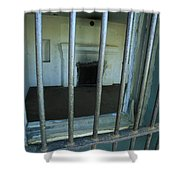 Bars And Fireplace - Fort Rucker Area Shower Curtain