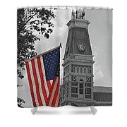 Bartholomew County Court House Shower Curtain