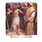 Bartimaeus Shower Curtain