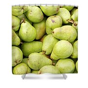 Bartlett Pears Shower Curtain