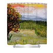 Barton Sunset Shower Curtain