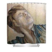 Baryshnikov Shower Curtain