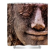 Bas Relief, Angkor Wat Shower Curtain