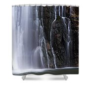 Base Of Porcupine Falls Shower Curtain