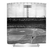 Baseball: Fenway Park, 1956 Shower Curtain