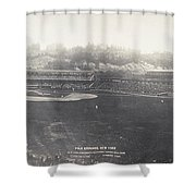Baseball Game, 1904 Shower Curtain