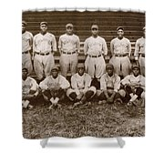 Baseball: Negro Leagues Shower Curtain