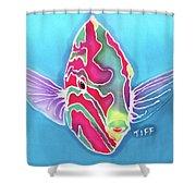 Bashful Shower Curtain