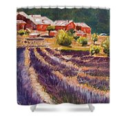 Lavender Smell Shower Curtain