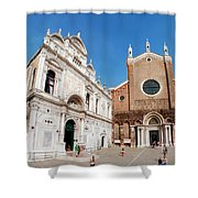Basilica Dei Santo Giovanni E Paolo Shower Curtain